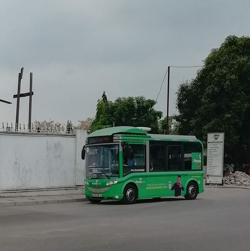Electric bus @ Brazzaville