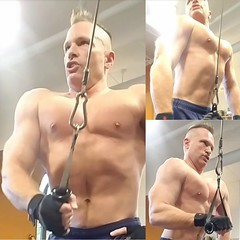 triceps (ddman_70) Tags: shirtless pecs abs muscle gym workout chest tricep triceps treasuretrail