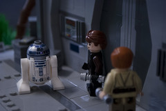 """Alright R2, let's get that door open!"""