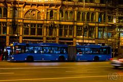 Volvo 7700A (Slobodan Kostić) Tags: budapest bkk bkv publictransport bus opnv autobus busz autobusz masstransit night volvo volvo7000 volvo7700 lowfloor articulated