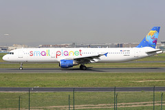 SP-HAW (QC PHOTOGRAPHY) Tags: frankfurt main germany april 21st 2018 small planet airlines poland a321200 sphaw