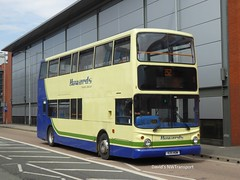 Howards Travel Group, [V25HOW] - Warrington (24/05/18) (David's NWTransport) Tags: howardstravelgroup v25how lx03osb alexanderalx400 alexander alx400 dennistrident dennis trident