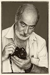 Diapositiva analogica (bartric - Bartolomeo) Tags: autoritratto selfie nikond200 bw diapositive portrait ritratto