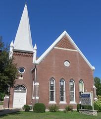 Clarksville Christian Church (Clarksville, Missouri) (courthouselover) Tags: missouri mo churches pikecounty clarksville northamerica unitedstates us