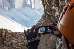 Other perspectives (Bergfex_Tirol) Tags: bergfex italy paternkofel tyrol dolomiti dolomiten alps lavaredo alpen südtirol mountain italien rope tunnel höhle mobile smartphone 3zinnen viaferrata fixedroperoute trecime