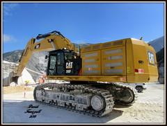 Caterpillar 390F (DaveFuma) Tags: caterpillar 390 escavatore cingolato cava ruspa qurry crawler tracked excavator plant bagger kettenbagger raupenbagger steinbruch