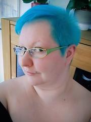 2019-04a (very_short_hair) Tags: blue bluehair