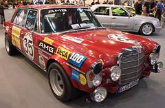 Rote Sau (Schwanzus_Longus) Tags: german germany essen motorshow car vehicle race racing motorsport old classic vintage sedan saloon mercedes benz 300sel 300 sel rote sau