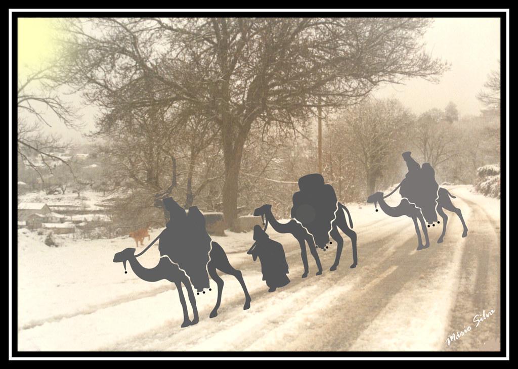 Águas Frias (Chaves) - os três Reis Magos ...
