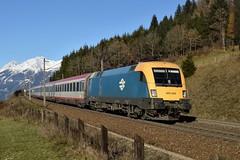 470 007, IC 592 ( Salzburg -> Klagenfurt ). Penk (M. Kolenig) Tags: intercity berg baum wald tauernbahn