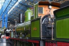Hippopotamus Class (No 1275) (1874) (Bri_J) Tags: nationalrailwaymuseum nrm leemanroad york northyorkshire uk museum railwaystation nikon d7500 yorkshire hippopotamusclass 1275 train locomotive green steamtrain