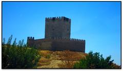 Castillo de Tiedra (Valladolid, España) (Jesús Cano Sánchez) Tags: elsenyordelsbertins mvillorbina canon ixus310hs enunlugardeflickr vacances2016 espanya españa spain castella castilla castellailleo castillayleon valladolidprovincia tiedra castell castillo castle romanic romanico romanesque