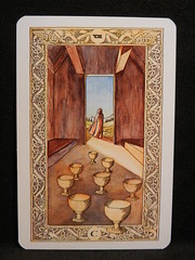 Eight of Cups. (Oxford77) Tags: tarot thenorsetarot norse viking vikings cards card tarotcards