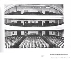 1915 Albany High School auditorium (albany group archive) Tags: early 1900s western no lake old albany ny vintage photos picture photo photograph history historic historical