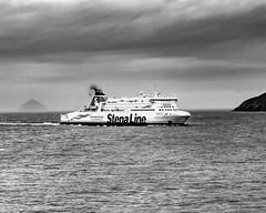 Stena Ferry - Ailsa Craig (rmilner.photoart) Tags: stenaline stena ireland ferry maritime ailsacraig