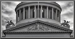 CAStateCapitol_9375 (bjarne.winkler) Tags: black white dome state capitol building sacramento ca