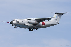 Japan Air Self Defence Force, Kawasaki C-1 FTB, 28-1001. (M. Leith Photography) Tags: mark leith photography japan japanese self air defence force jasdf sunshine base fighter nikon d7000 d7200 70200vrii 300mmf4 nikkor asia flying military sky building airplane kawasaki c1 cockpit aircraft gifu fight test