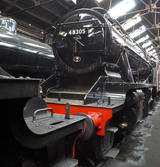 Great Central Railway Loughborough Leicestershire 16th March 2019 (loose_grip_99) Tags: greatcentral railway railroad rail train preservation transportation leicestershire eastmidlands england uk loughborough shed mpd depot steam engine locomotive lms stanier 8f 280 48305 gassteam uksteam trains railways march 2019