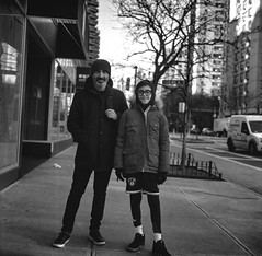 new yorkers (Uta_kv) Tags: homedeveloped blackandwhite nyc newyorker