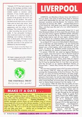 Liverpool vs Blackburn Rovers - 1991 - Page 12 (The Sky Strikers) Tags: liverpool blackburn rovers fa cup road to wembley the anfield review one pound