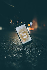 Happy new year (Tim RT) Tags: tim rt reutlingen happy new year bokeh bokehshotz street visual inspired artofvisual phone low light sony a7iii bealpha alpha sonyimages germany 2019 picture photography create explore sel24mmf14gm
