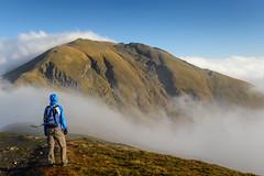 Man versus Mountain (Douglas Hamilton ( days well spent )) Tags: scotland ben lawers ghlas beinn munros mountain hills hill walking outdoors perthshire douglas hamilton nikon uk countryside mist hiking