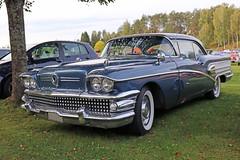 1958 Buick Special (crusaderstgeorge) Tags: crusaderstgeorge cars classiccars chrome americancars americanclassiccars americancarsinsweden 1958buickspecial 1958 buick special högbo sweden sverige