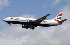 G-DOCH - London Heathrow (LHR) 20.06.2009 (Jakob_DK) Tags: b734 b737400 boeing boeing737 737 b737 737400 boeing737400 egkk lgw gatwick londongatwick gatwickairport londongatwickairport ba baw british britishairways 2009 gdoch