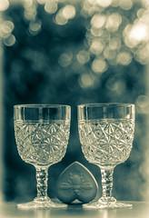 American Brilliant (Captainchaoz) Tags: fuji x 55mm f28 american brilliant wine glass goblet