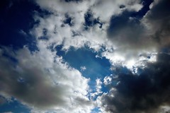 Sky (matthileo) Tags: sky clouds blue white sun sunlight nature air