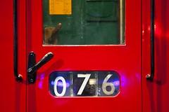 Métro (Gerard Hermand) Tags: 1811136505 gerardhermand londres london royaumeuni unitedkingdom canon eos5dmarkii londontransportmuseum metro tube porte door rouge red 076