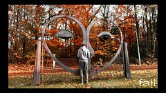 fall (Mattijn) Tags: forest autumn fall november musicvideo videoart videomontage acousticguitar song mattepainting strolling eye sculpture