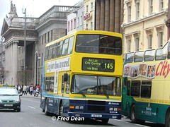 Dublin Bus RA256 (96D256). (Fred Dean Jnr) Tags: april2005 dublin dublinbus busathacliath dublinbusyellowbluelivery volvo olympian alexander r dublinbusroute145 ra256 96d256 oconnellstreetdublin dbrook