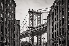 Once upon a time... (alfapegaso) Tags: brooklyn new york bridge ponte old
