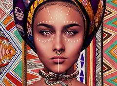 Remixology (Shanixia) Tags: ethnic vintage retro port portrait secondlife sl genu genus pattern shuri laboucherie empyreanforge fafa
