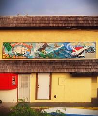 Store Signs, Kona, Big Island (augenbrauns) Tags: storesigns roof building yellow tattooshop surflessons signs stores hawaii bigisland kona netartll artdigital exoticimage
