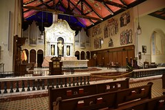 Cathedral Basilica of St. Augustine (Starcadet) Tags: staugustine florida atlantik castillodesanmarcos spanien usa nationalmonument festung bastion city kolonie briten amerikaner siedlung england