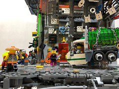 Layers City (lego.insomnia) Tags: lego cyberpunk cyber punk build moc science fiction japan
