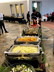 (cafe_services_inc) Tags: cafeservicesinc arbella holidayparty holiday2018 buffet noodles bowtie bowtienoodles cheflarry