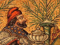 Ravenna - Sant'Apollinare Nuovo 10 (antonella galardi) Tags: emilia romagna ravenna 2018 natale mosaici paleocristiano bizantino santapollinarenuovo chiesa