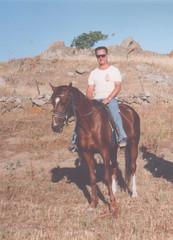 Myrina Umgebung (Μύρινα) (John Steam) Tags: ausreiten myrina umgebung island insel lemnos limnos greece griechenland urlaub 1993 juni june environment λήμνοσ μύρινα horse pferd history philoctetes troja troy bow