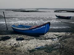 Ebb Tide (MrBlueSky* TAKING A BREAK) Tags: water sea tide nature outdoor colour carrasqueira alentejo portugal boats canon canonpowershot