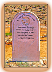 Headstone, Kanyaka Cemetery, Kanyaka Homestead, Flinders Ranges Way, Kanyaka, South Australia (Stuart Smith AUS) Tags: 1891 abandoned buried castaside cemetery dead decayed deceased decrepit derelict deserted discarded dumped explore forgotten forsaken geo:lat=3207111500 geo:lon=13829965167 geotagged headstone httpstudiaphotos interred jamesbole left margaretmenzies neglected notinuse notused obsolete relics remembrance rip ruins rusted rusting rusty stuartsmith stuartsmithstudiaphotos studiaphotos thrownaway thrownout wonderful wrecked wwwstudiaphotos grave died flinders ranges flindersranges 5434