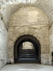 Arles Amphitheater (dckellyphoto) Tags: arles provencealpescôtedazur france 2013 bouchesdurhône europe roman arlesamphitheater amphitheater ruin building old tunnel