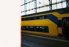 first of the roll at Haarlem, Netherlands. (aqawitt) Tags: haarlem trainstation street snap streetphotography shootfilm shooting agfa agfavista agfavista200 film filmphotography fm2 dutch nikon netherland nikonfm2 nikkor negative firstoftheroll