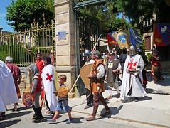 Fete des Remparts, Alet-les-Bains (Niall Corbet) Tags: france occitanie languedoc roussillon aude fete festival medieval fetedesremparts aletlesbains knight