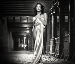 (horlo) Tags: portrait bw blackandwhite noiretblanc film movies cinema actress nb wallpaper fonddécran glamour actrice monochrome vintage woman femme dariawerbowy