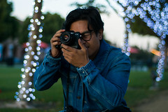 JYP-Kevin-Raquidan-5 (Kevrockydon) Tags: nikon nikonphotography nikond7200 d7200 portrait people person light lights neon color christmaslights libertystation sandiego california city sunset goldenhour