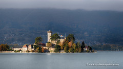 Duingt castle, France (My Planet Experience) Tags: château duingt castle châteauvieux ruphy lake lac annecy lacdannecy water autumn fall landscape cloudy tree forest alpes haute savoie french alps france f myplanetexperience wwwmyplanetexperiencecom