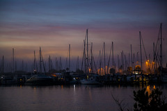 Before Sunrise (mimsjodi) Tags: sunrise dawn titusvillefl marina water indianriverlagoon